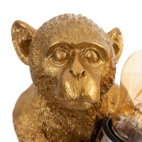 Lámpara Mesa Mono Marianito Oro 15x11,5x21,5